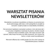 Warsztat Pisania Newsletterów